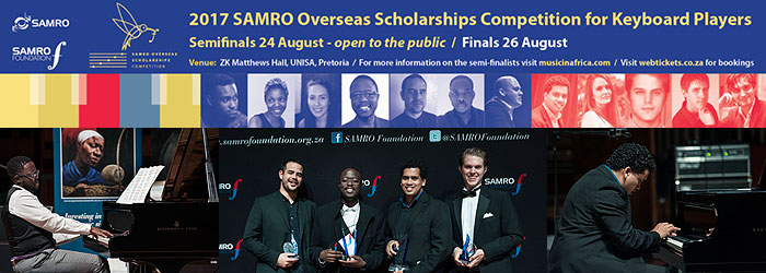 SAMRO music ambassadors stake their claim